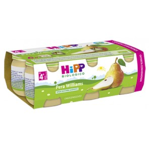 HIPP BIO OMOGENEIZZATO PERA WILLIAMS 100% 6X80 G