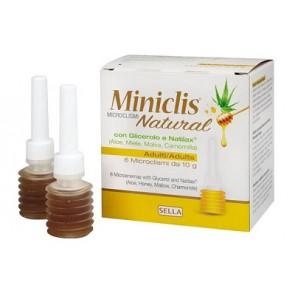 MINICLIS NATURAL MD AD 6 PEZZI