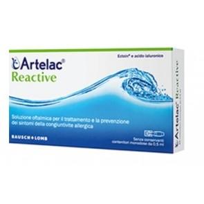 ARTELAC REACTIVE SOLUZIONE OFTALMICA MONODOSE 10 UNITA' DA 0,5 ML