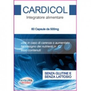 CARDICOL 60 CAPSULE DA 500 MG