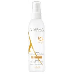 ADERMA A-D PROTECT SPRAY 50+ 200 ML