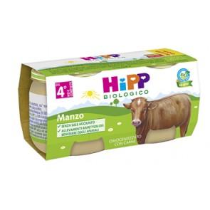 HIPP BIO HIPP BIO OMOGENEIZZATO MANZO 2X80 G