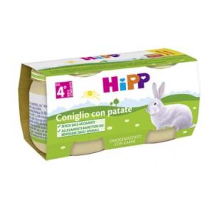HIPP BIO HIPP BIO OMOGENEIZZATO CONIGLIO CON PATATE 2X80 G