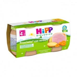 HIPP BIO HIPP BIO OMOGENEIZZATO PROSCIUTTO CON VERDURE 2X80 G