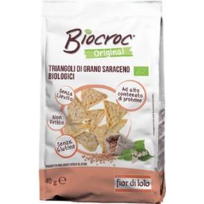 BIOCROC TRIANGOLI DI GRANO SARACENO 40 G