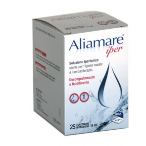 ALIAMARE 25 FLACONCINI IPERTONICI DA 5 ML
