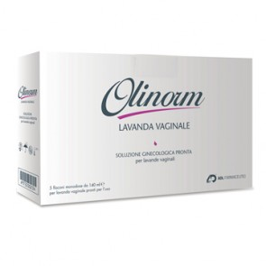 OLINORM LAVANDA 5 FLACONI MONODOSE DA 140 ML