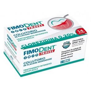 FIMODENT TRAVEL COLLUTORIO CLOREXIDINA SPDD 0,20% 14 FLACONCINI MONODOSE 10 ML