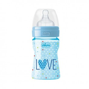 CHICCO BIBERON BEN LOVE 150 ML SILICONE