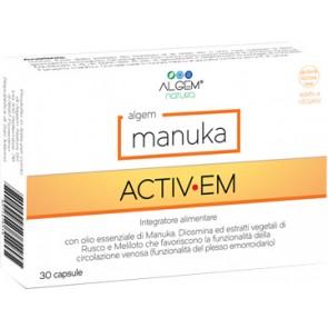 ALGEM MANUKA ACTIV EM 30 CAPSULE