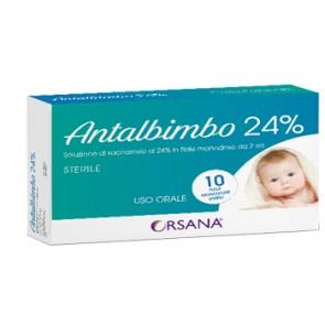 ANTALBIMBO 24% STERILE 10 FIALE MONODOSE 2 ML