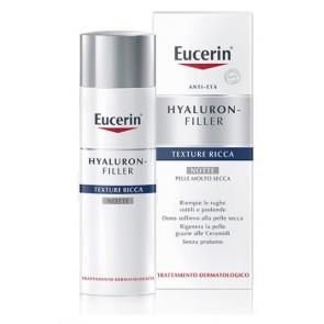 EUCERIN HYALURON+FILLER TEXTURE RICCA NOTTE 50 ML