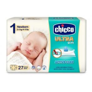 CHICCO PANNOLINO ULTRA CHICCHO NEWBORN 27 X 10