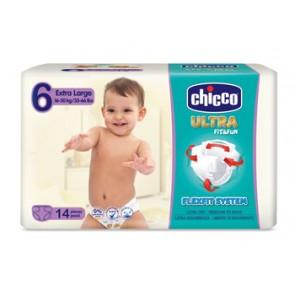 CHICCO PANNOLINO ULTRA XL 14 PEZZI