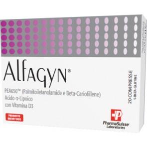 ALFAGYN 20 COMPRESSE