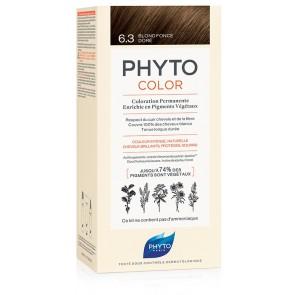 PHYTOCOLOR 6.3 BIONDO SCU DOR 1 LATTE + 1 CREMA + 1 MASCHERA + 1 PAIO DI GUANTI