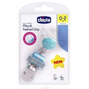 CHICCO SUCCHIETTO MICRO+CLIP BOY 0-2 MESI B