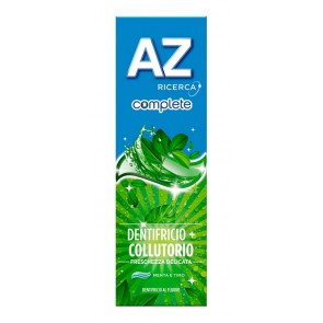 DENTIFRICIO ORAL B AZ COMPLETE + COLLUTORIO FRESCHEZZA DELICATA 65 + 10 ML