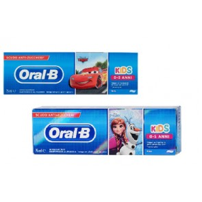 ORALB DENTIFRICIO KIDS FROZEN&CARS 0-5 ANNI 75 ML