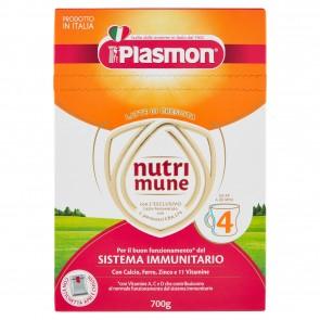 PLASMON NUTRIMUNE LATTE STAGE 4 POLVERE 700 G