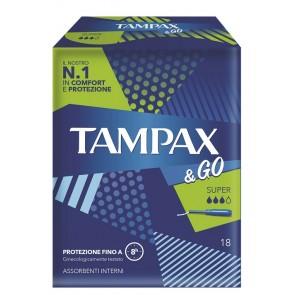 TAMPAX&GO SUPER 18 PEZZI