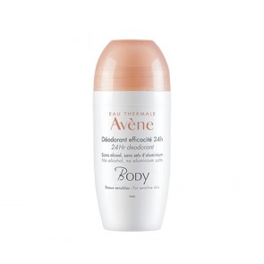 Avene Deodorante Body 24h Roll On 50ml