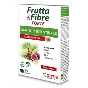 FRUTTA & FIBRE FORTE 24 COMPRESSE