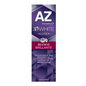 AZ DENT 3D WHITE LUXE BIANCO BRILLANTE 75 ML