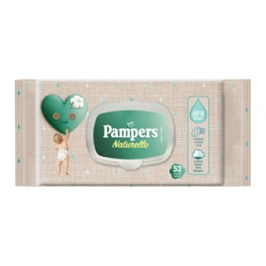 WIPES PAMPERS NATURELLO 52 SALVIETTE