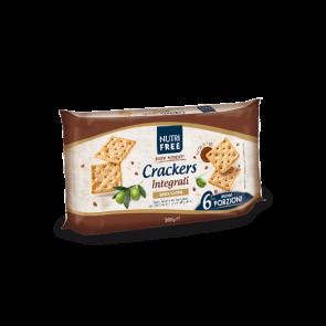NUTRIFREE CRACKERS INTEGRALI 33,4 G X 6 PEZZI