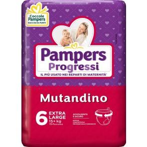 PAMPERS PROGRESSI MUT XL 15PZ