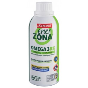 ENERZONA OMEGA 3RX 240 CAPSULE OFFERTA SPECIALE -25%