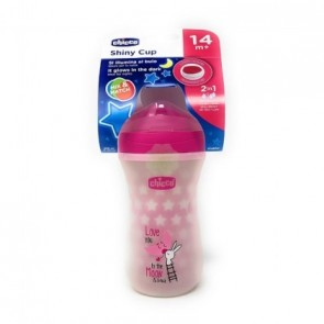 CHICCO TAZZA GLOWING 14M+ ROSA