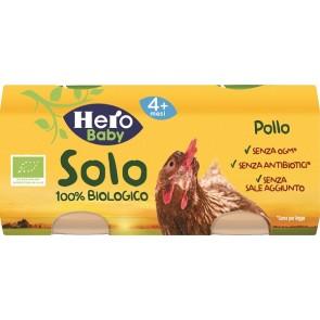 HERO SOLO OMOGENEIZZATO POLLO 100% BIO 2X80G