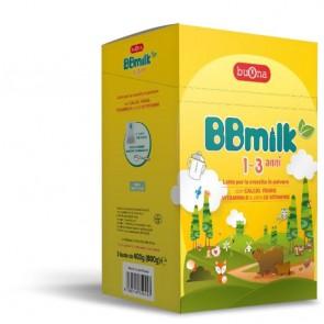 BBMILK 1-3 POLVERE 2 BUSTE DA 400 G