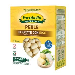 FARABELLA PERLE PATATE CON RISO 250 G