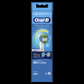 ORALB REFILL EB-20-3 PREC CLEA