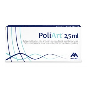 SIRINGA INTRA-ARTICOLARE POLIART 20MG/ML ACIDO IALURONICO 2,5 ML