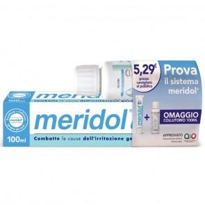 MERIDOL SPECIAL PACK 1 DENTIFRICIO MERIDOL 100 ML + 1 COLLUTORIO MERIDOL 100 ML IN OMAGGIO