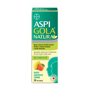 ASPI GOLA NATURA SPRAY 20ML